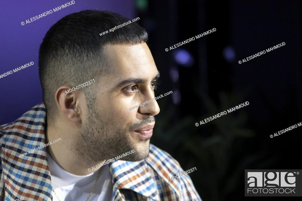 Stock Italian Rights About Among Singer-songwriter Milan Talk Meeting Age And Mahmood During Fotostock Image Pic Art Picture The Mdo-07002371 Photo Managed To