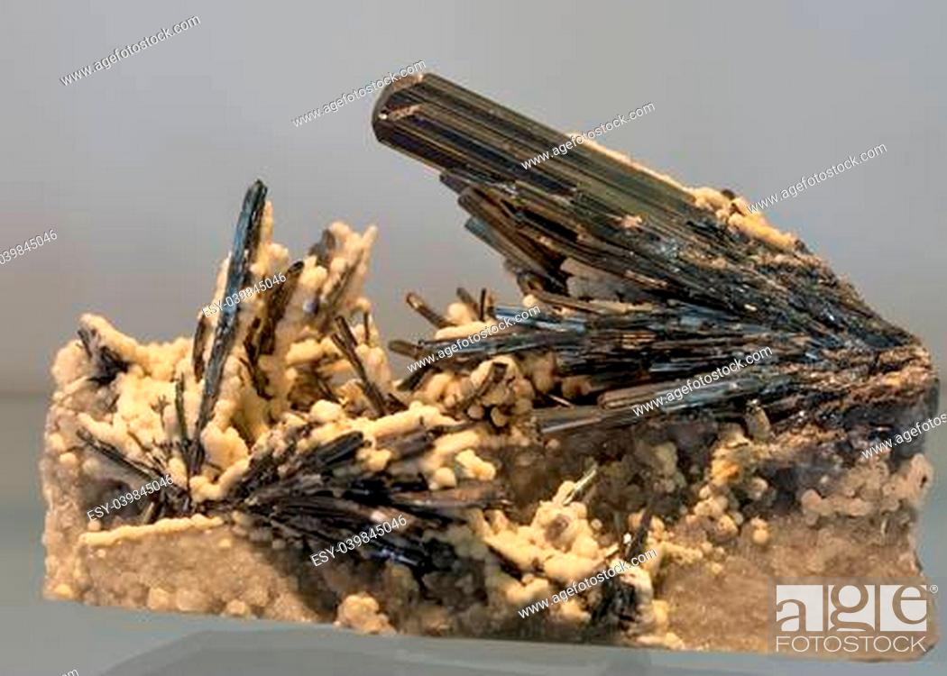 Stock Photo: Beautuful mineral crystal closeup.
