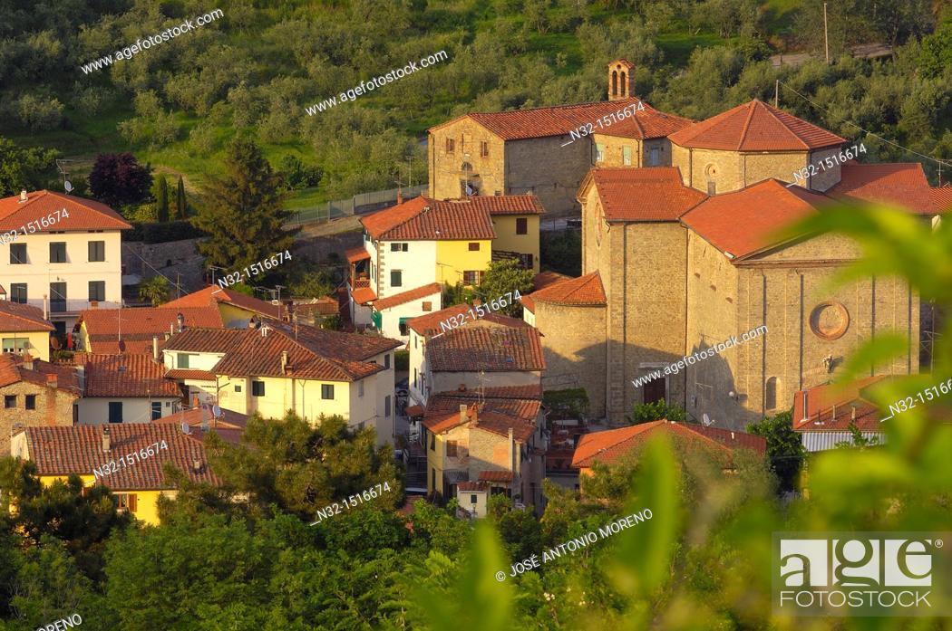 Stock Photo: Collodi, Valdinievole, Tuscany, Italy, Europe.