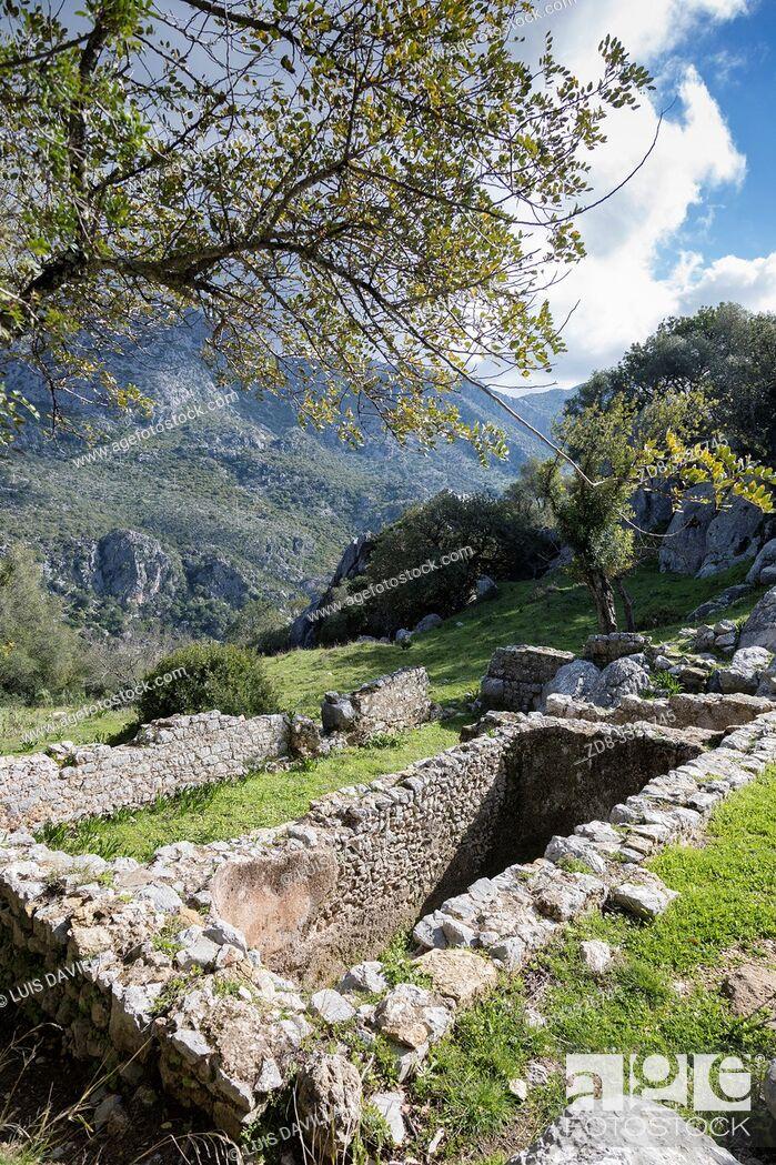 Imagen: the Roman city of Ocuri. ubrique, cadiz, SPAIN.