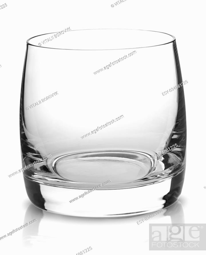 Stock Photo: Cocktail Glass Collection - Small Shot. Isolated on white background.