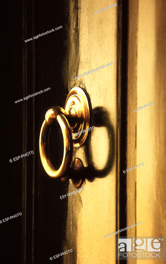 Stock Photo: Door Knocker.