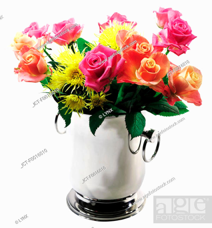 Stock Photo: Bouquet of roses.