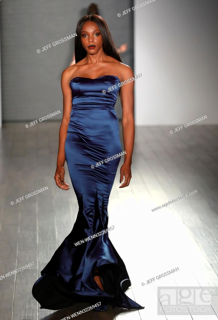 2b01eea457 Stock Photo - New York Fashion Week SS/2018 - Bad Butterfly - Runway  featuring designers Candice Cuoco and Vanessa Simmons Featuring: Bad  Butterfly Runway ...