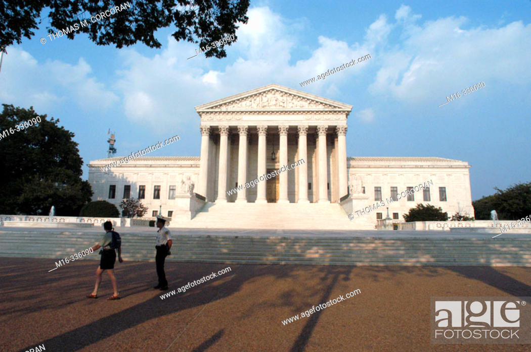 Stock Photo: Supreme Court Building. Washington D.C. USA.