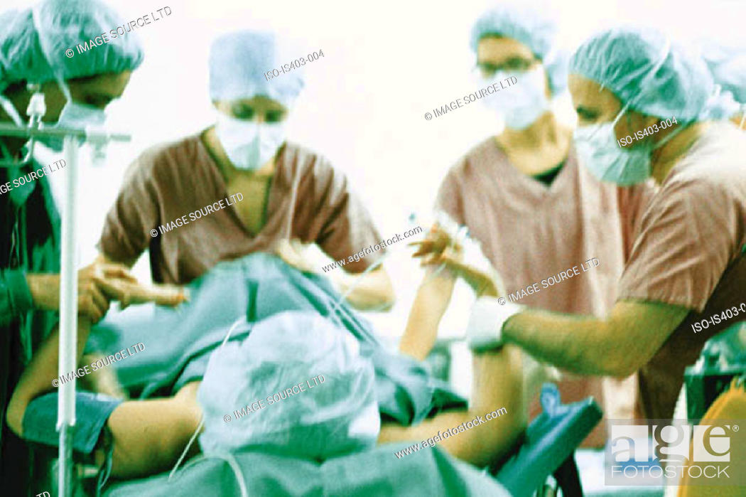 Stock Photo: Surgical operation.