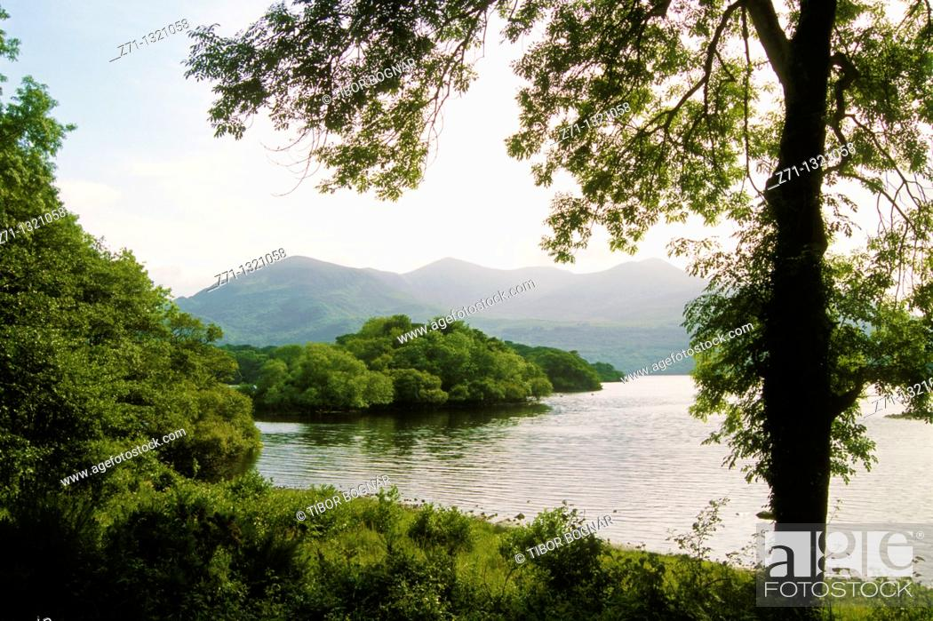 Stock Photo: Ireland, Killarney National Park, Lower Lake.