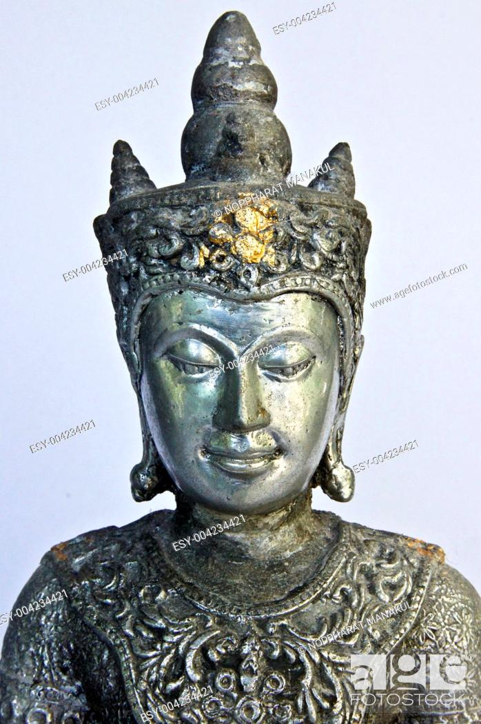 Stock Photo: Buddha more than 200 years old.