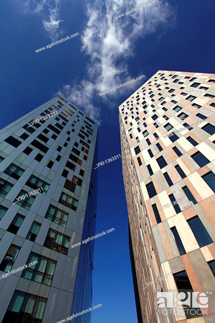 Stock Photo: Barcelona Buildings, 22@.