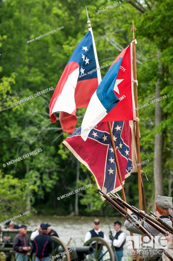 Confederate soldiers at the Thunder on the Roanoke Civil War