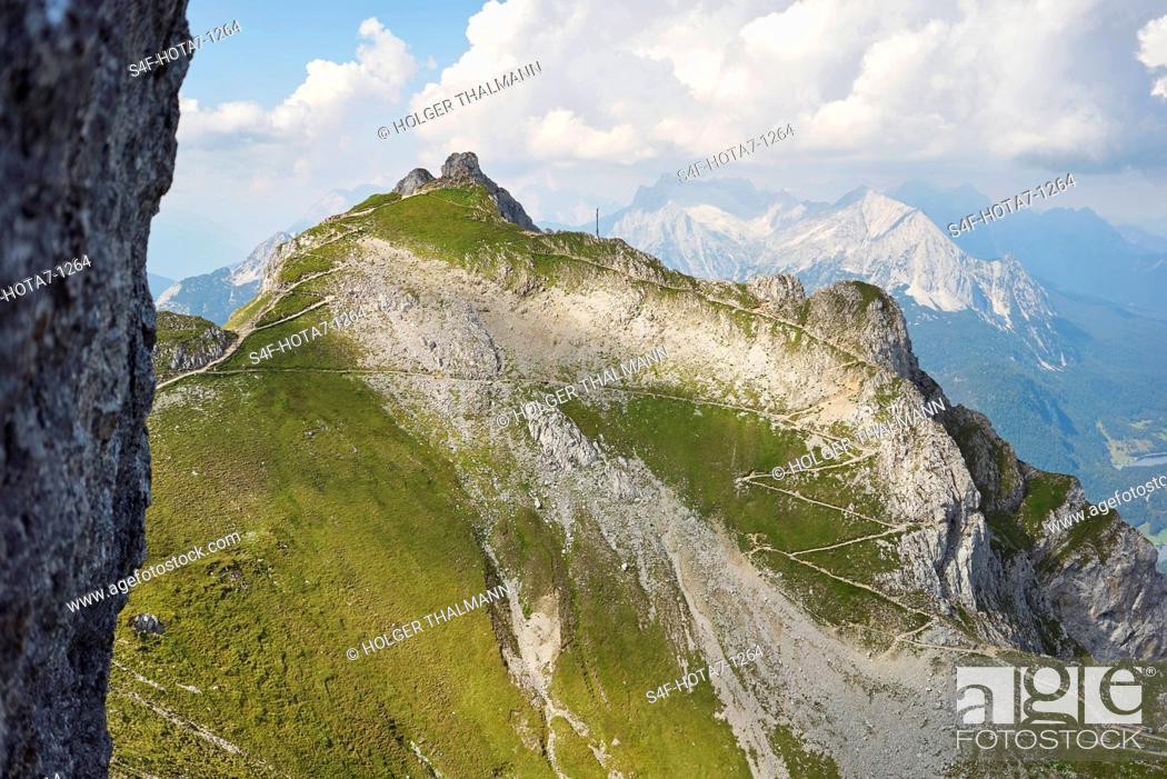 Stock Photo: Alpen, Karwendel, Berglandschaft.
