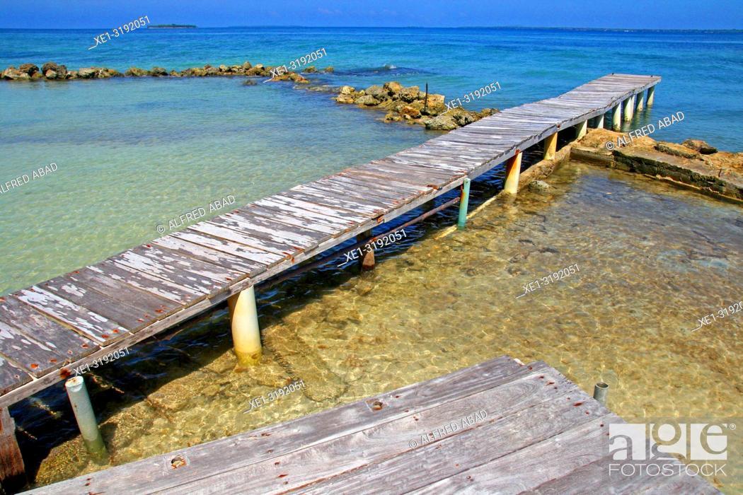 Imagen: pier, Barú Peninsula, Caribbean Sea, Colombia.