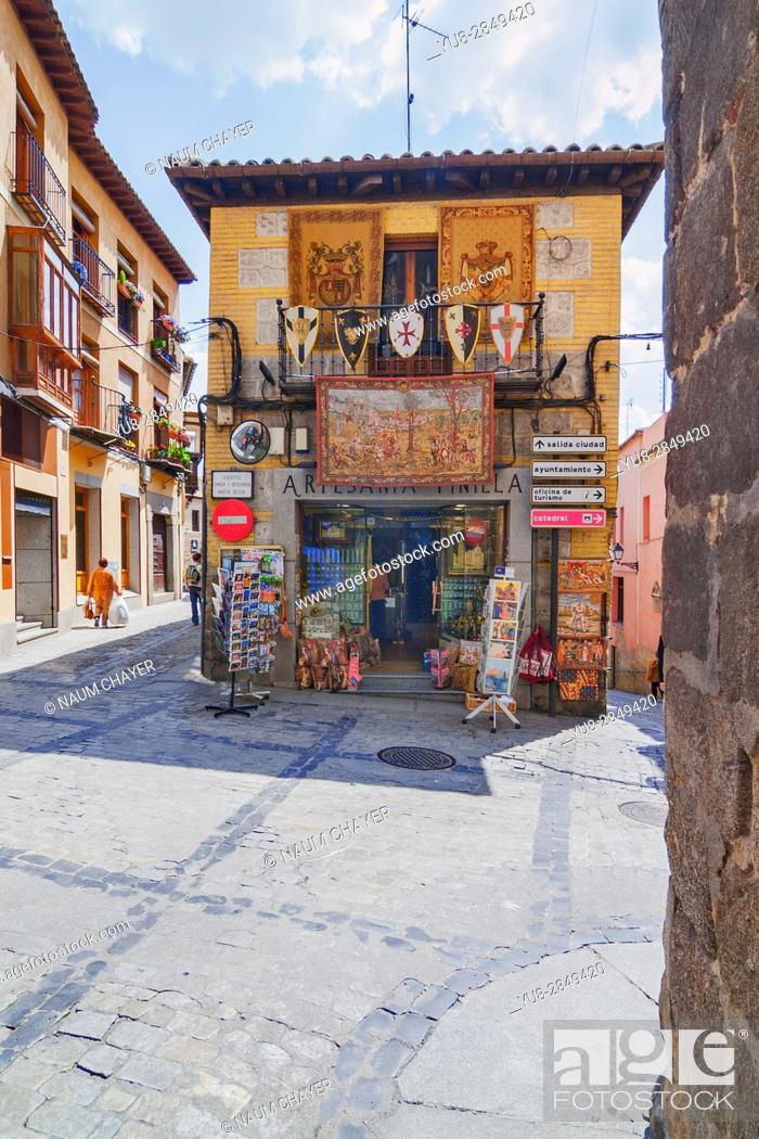 Stock Photo: Antique store, Toledo, Spain, Europe.