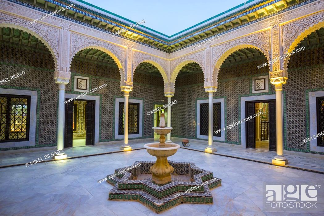Stock Photo: Courtyard. Museum. Tozeur city. Tunisia, Africa.