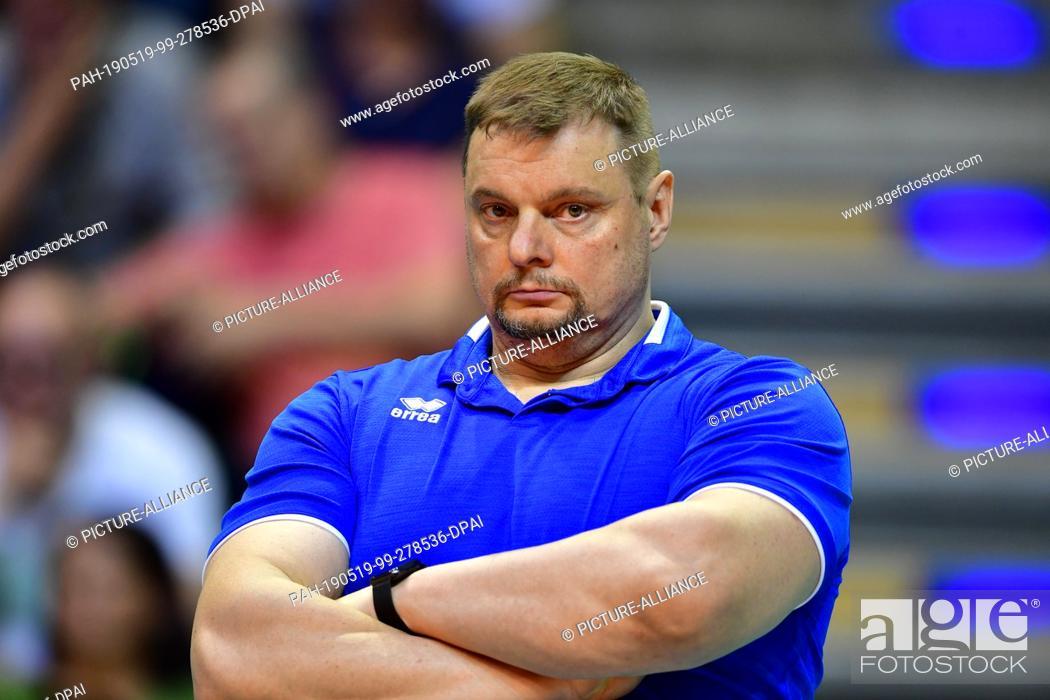 18 May 2019 Berlin Volleyball Men Champions League Zenit Kazan Cucine Lube Civitanova Stock Photo Picture And Rights Managed Image Pic Pah 190519 99 278536 Dpai Agefotostock