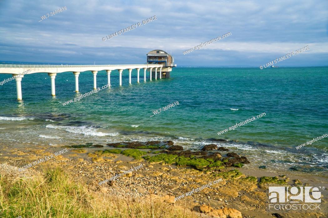 Stock Photo: Bembridge RNLI lifeboat station, Isle of Wight UK. October 2020.