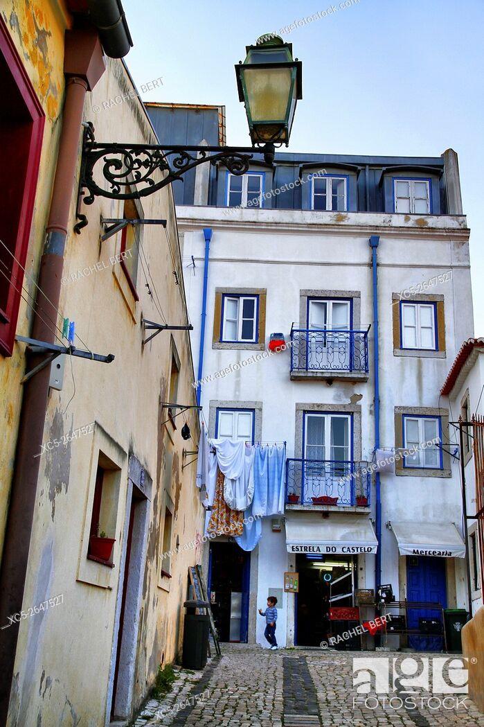 Imagen: Saint Jorge neighborhood, Lisbon, Portugal.