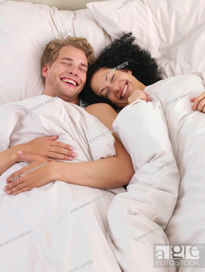 Stock Photo: lazy time in bed.