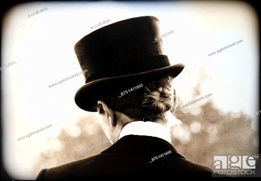 Stock Photo: Top hat.