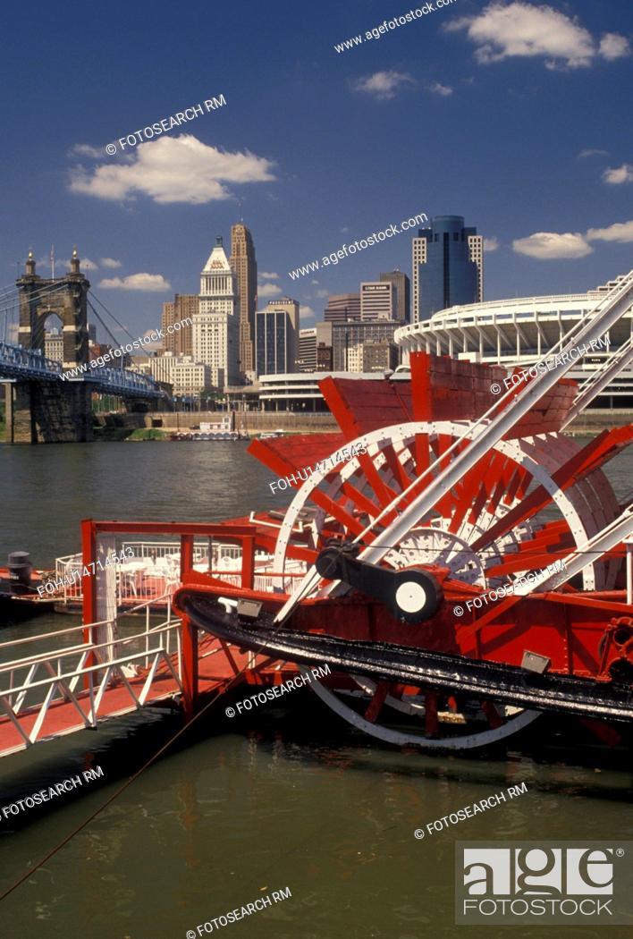 Cincinnati Oh Riverboat Ohio River Ohio Mike Finks Riverboat