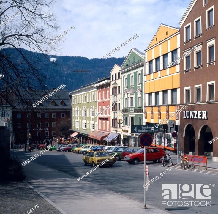 Imagen: Reise nach Kufstein in Tirol, Österreich 1980er Jahre. Journey to Kufstein in Tyrol, Austria 1980s.