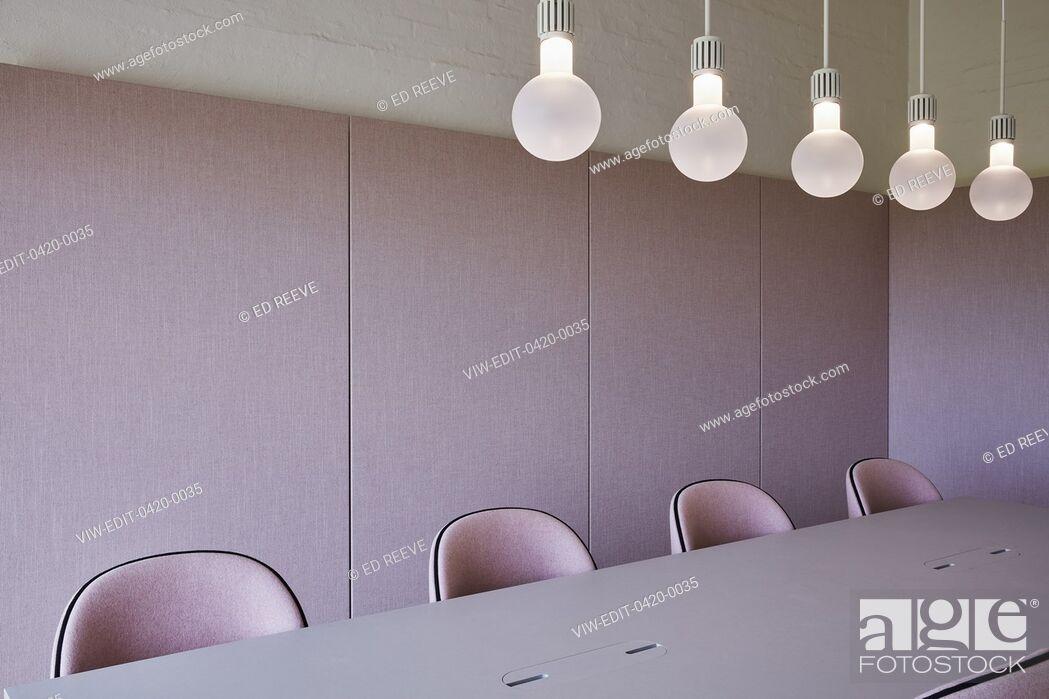 Stock Photo: Meeting room. Kvadrat HQ, Ebeltoft, Denmark. Architect: Kvadrat, 2017.