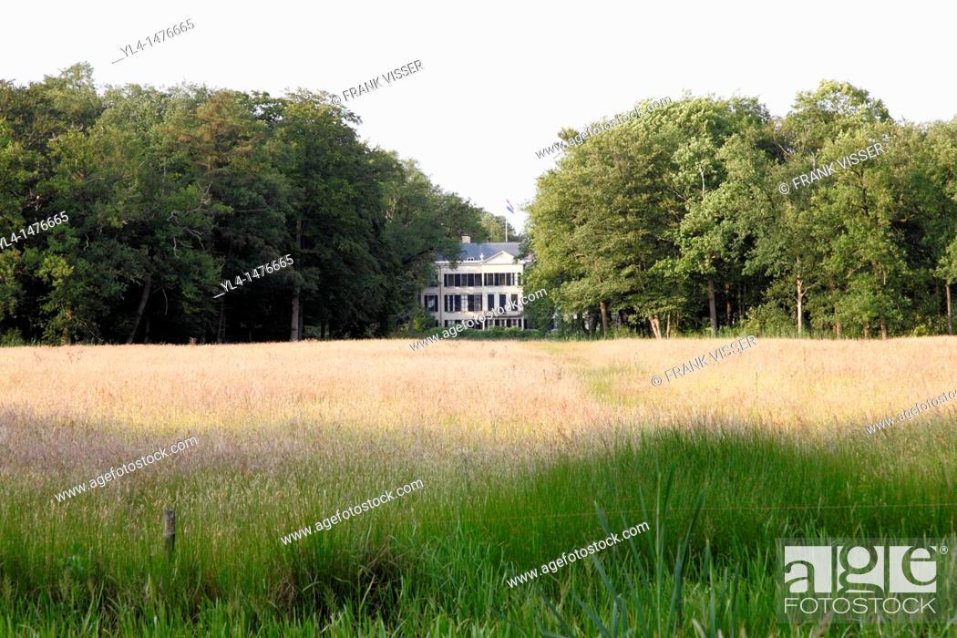 Stock Photo: Estate Broekhuizen, Leersum, Netherlands.