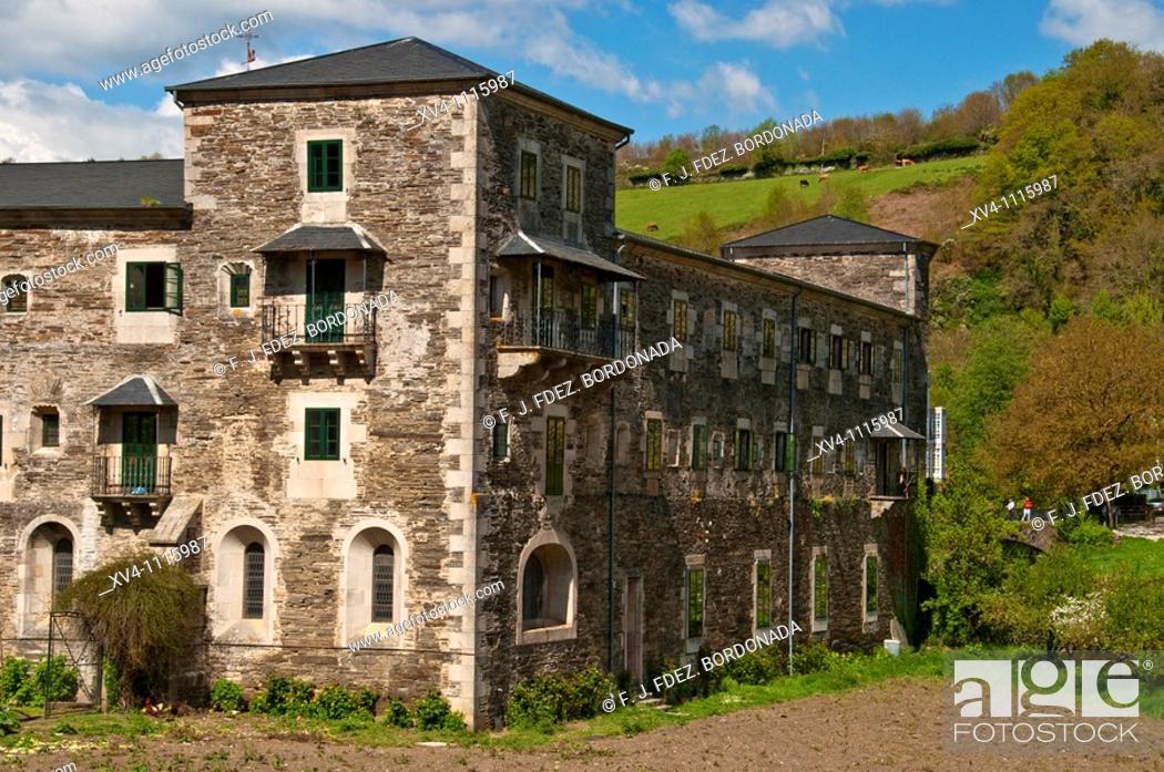 Monasterio De Samos Lugo Galicia Spain Stock Photo Picture And Rights Managed Image Pic Xv4 1115987 Agefotostock