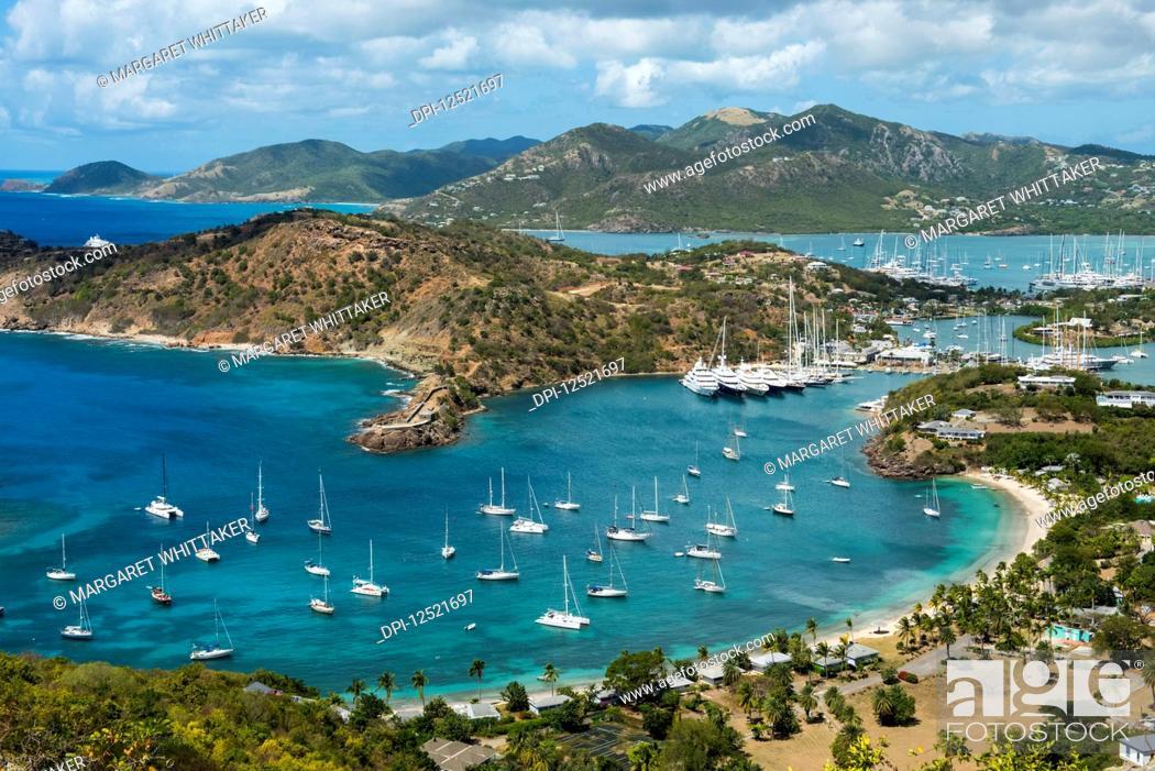 Stock Photo: English Harbour; Shirley Heights, Antigua and Barbuda.