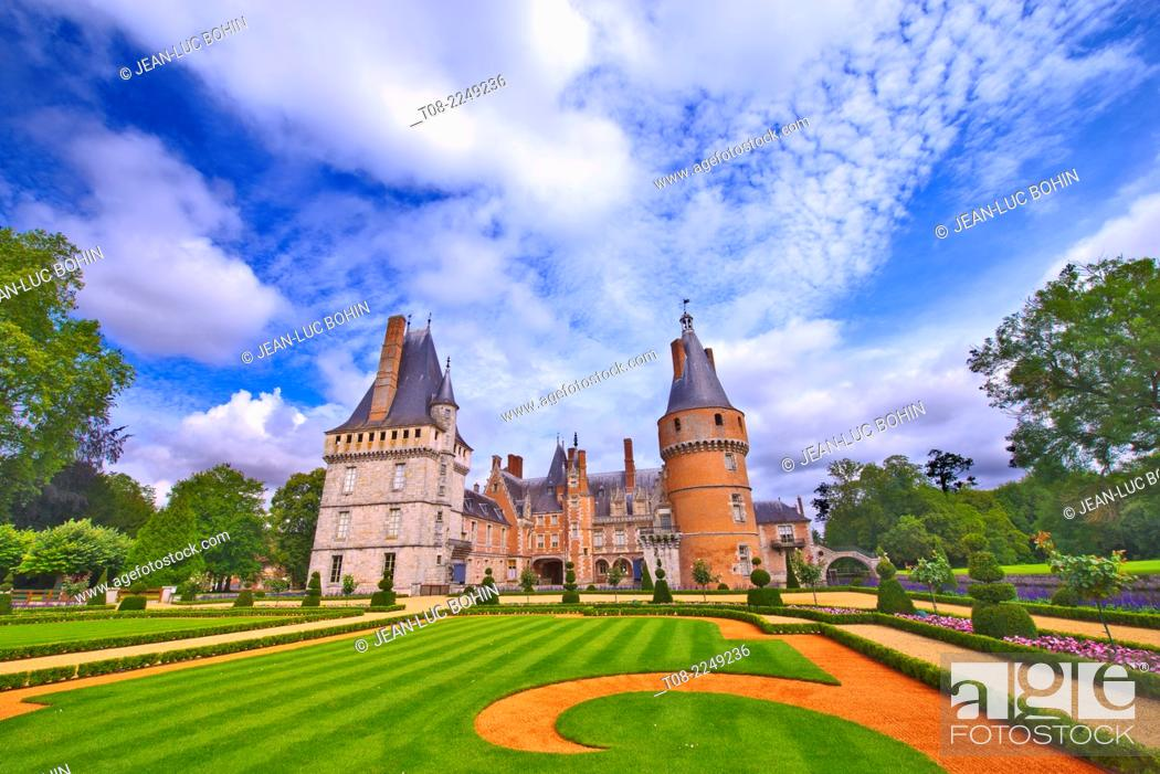 Imagen: france, 28 : maintenon castle & garden.