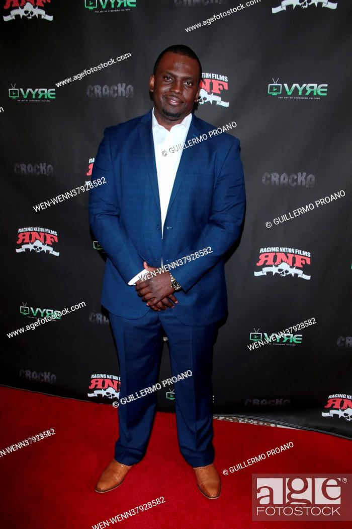 Stock Photo: Cracka Film Premiere at Cinelounge in Hollywood, California Featuring: Itibari Zulu Where: LA, California, United States When: 18 Jun 2021 Credit: Guillermo.