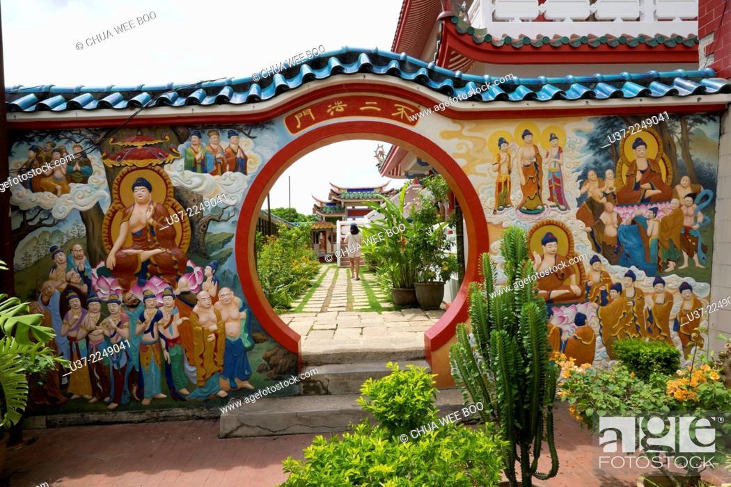 Imagen: Kek Lok Si temple, Penang, Malaysia.