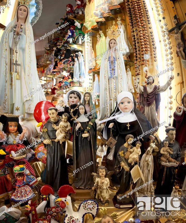 Stock Photo: Catholic souvenirs.