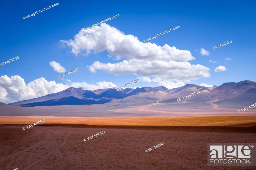 Imagen: Siloli desert in sud Lipez reserva Eduardo Avaroa, Bolivia.