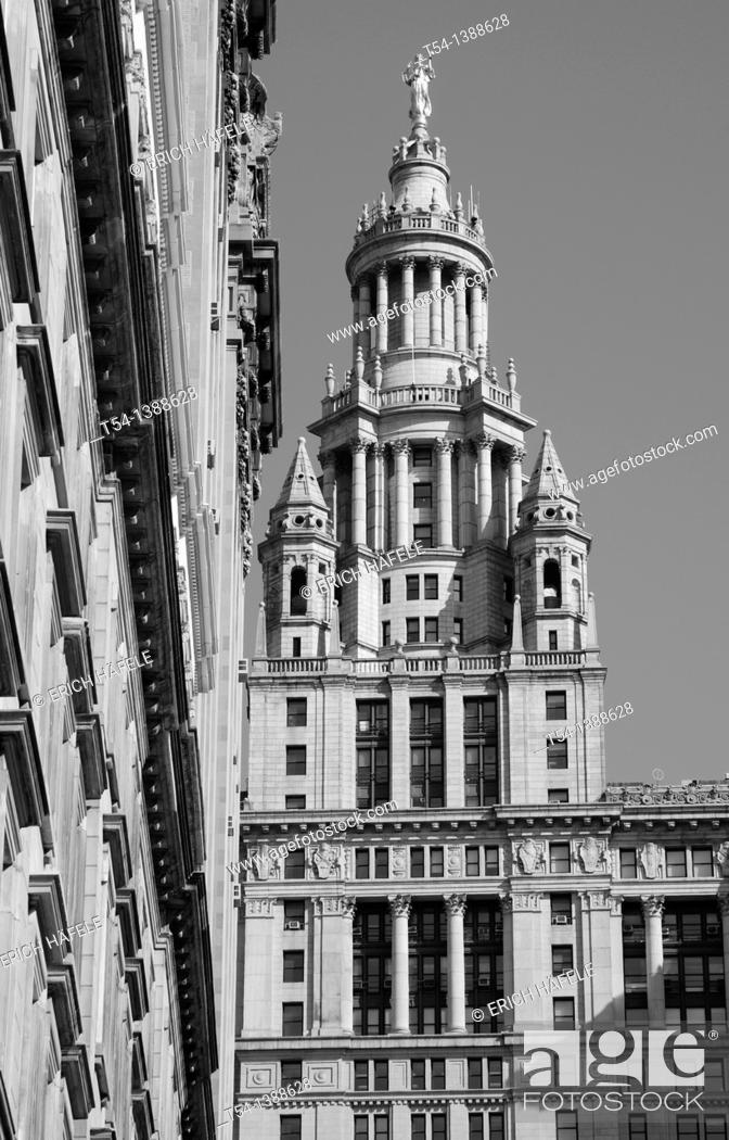 Stock Photo: New York City Town Hall.