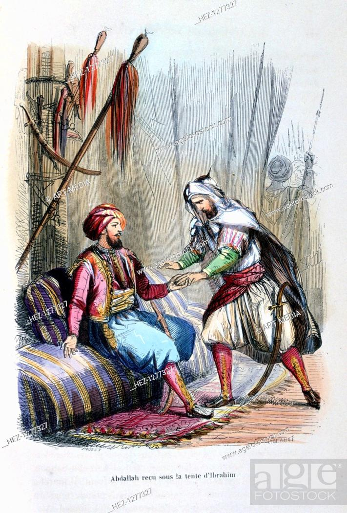 Abdullah Received In The Tent Of Ibrahim Pasha 1818 C1847