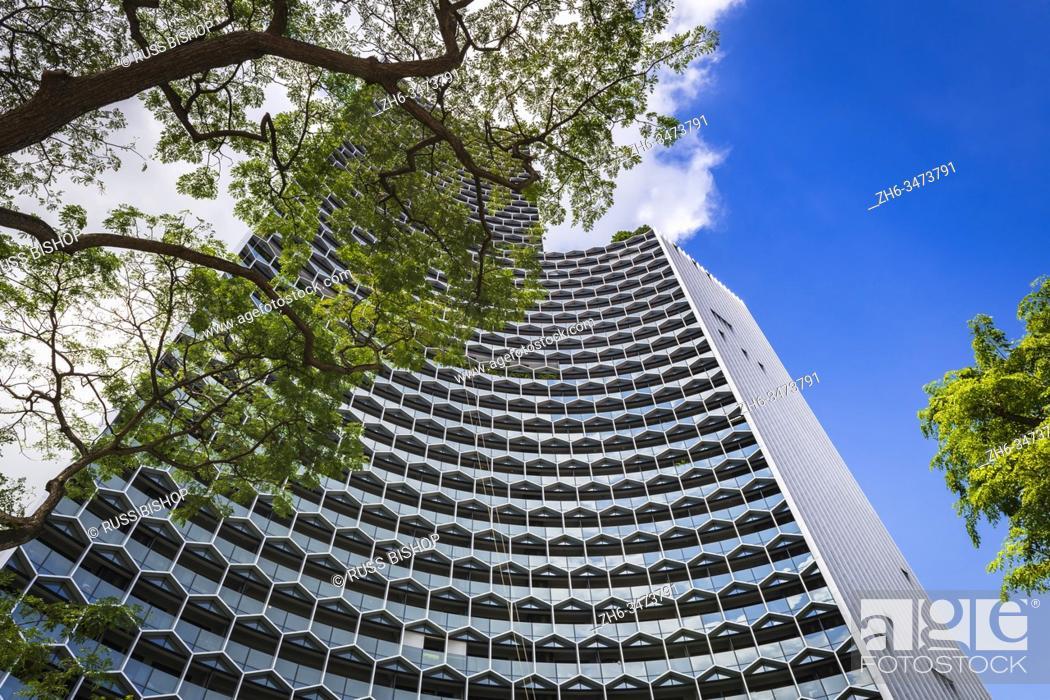 Stock Photo: The DUO Tower, Singapore, Republic of Singapore.