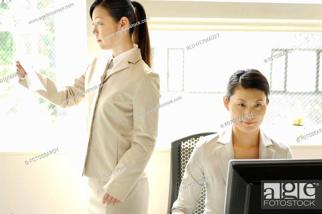 Stock Photo: Office image.