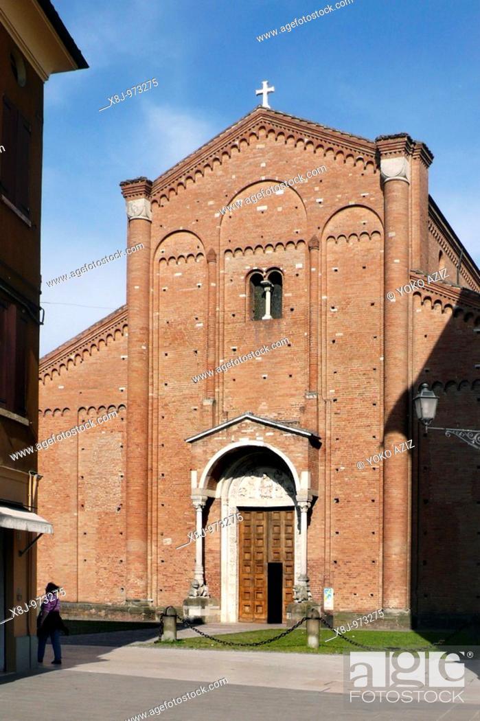 Imagen: Saint Silvestro Abbey Nonantola - Modena, Italy.