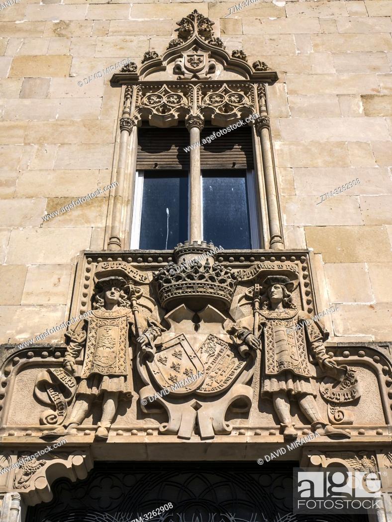 Imagen: Casa de la Marquesa de Cartago. Ciudad Rodrigo. Salamanca. Castilla León. España.