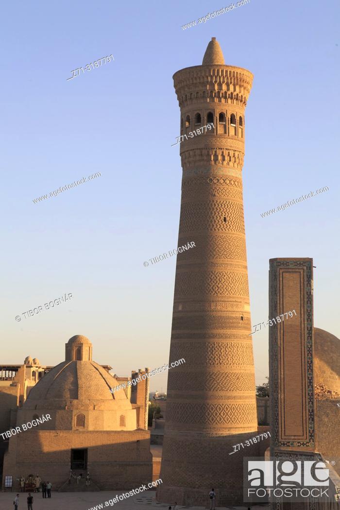 Imagen: Uzbekistan; Bukhara; Kalon Minaret, .
