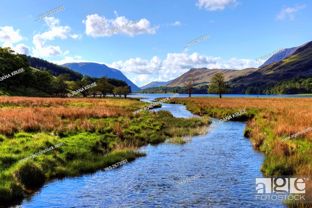 Stock Photo: Buttermere, Lake District, Cumbria, England, UK.