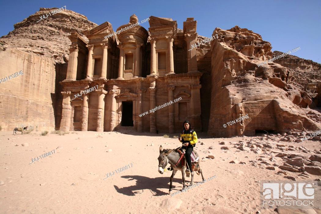 Stock Photo: ancient city of petra, Jordan.