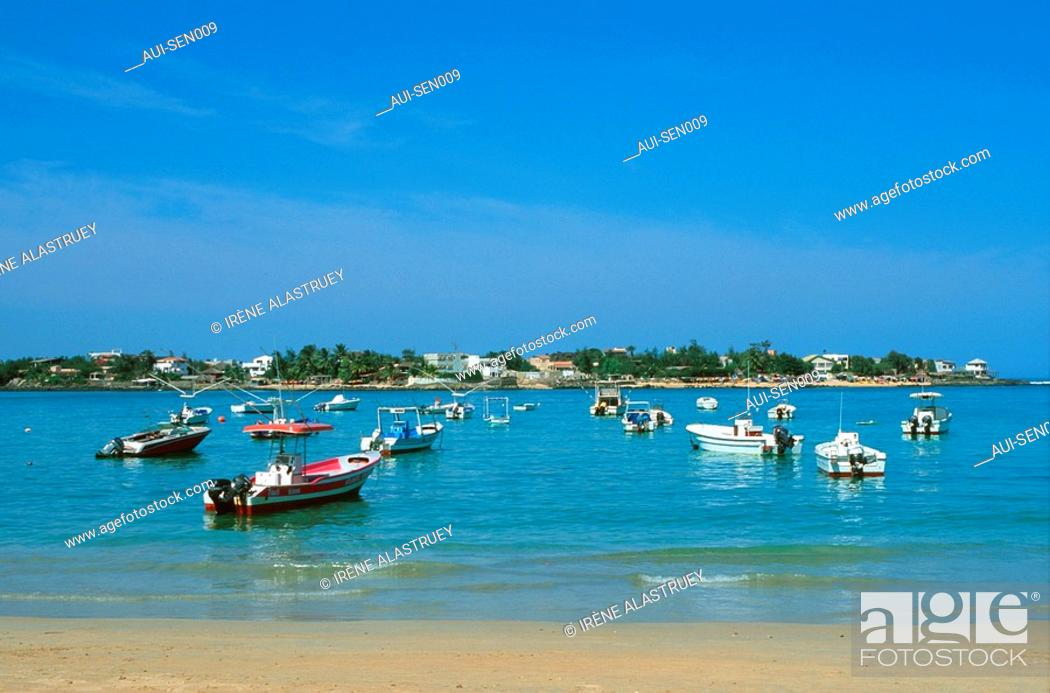 Stock Photo: Senegal - La Prequ'ile du Cap-Vert - Ile de N'Gor.