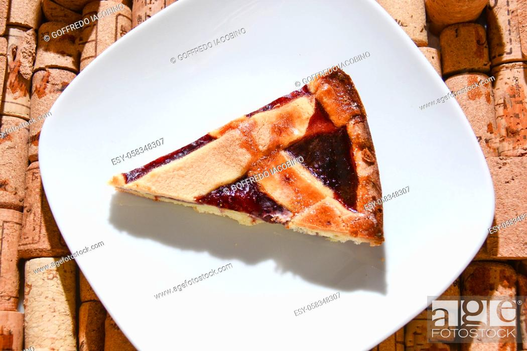 Stock Photo: Italian pastry original fine gluttony.