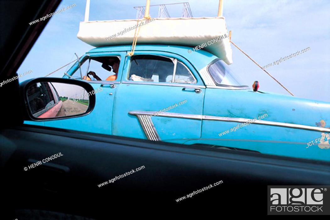 Stock Photo: Havana, old car.