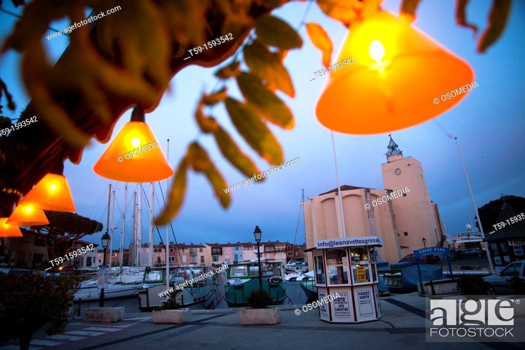 Stock Photo: Port Grimaud, Cote d Azur France.