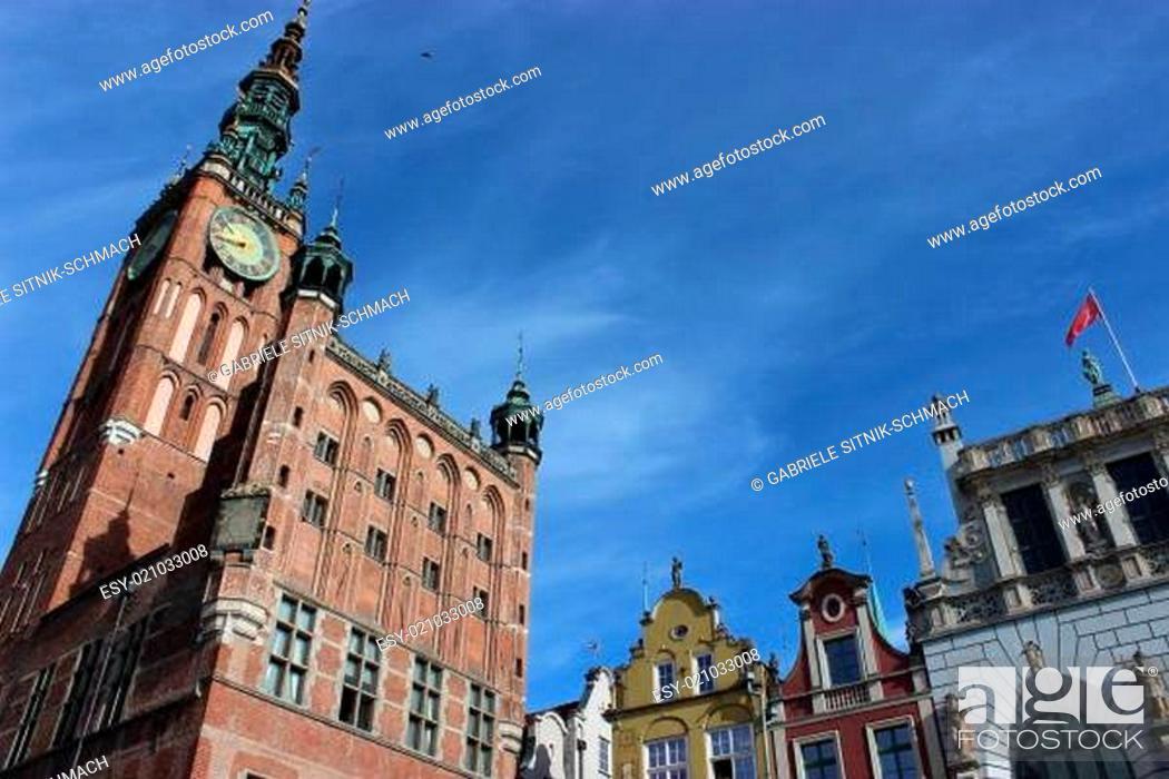 Stock Photo: Gdansk, Danzig.