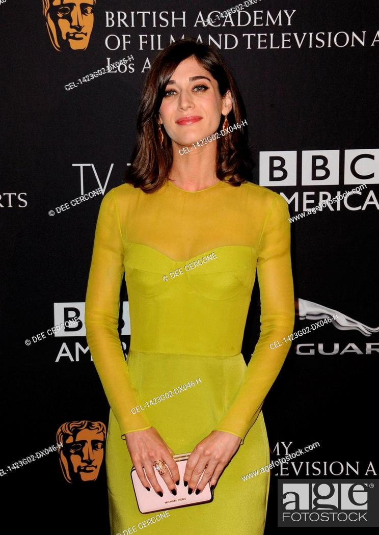 7d2218b605 Stock Photo - Lizzy Caplan (carrying a Michael Kors clutch) at arrivals for  BAFTA Los Angeles TV Tea, SLS Hotel at Beverly Hills, Los Angeles, CA  August 23, ...