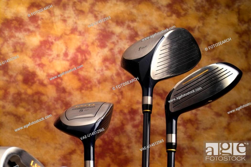 Stock Photo: wood, sports, driver, golf, leisure, sports equipment, club.